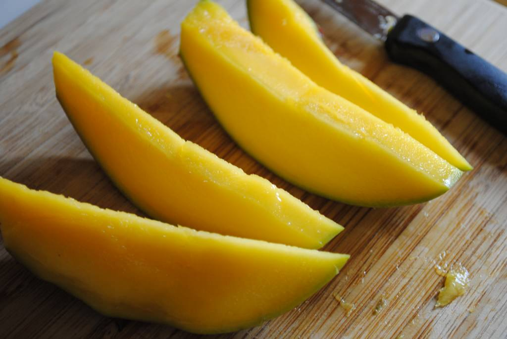 How to Cut a Mango - Iowa Girl Eats