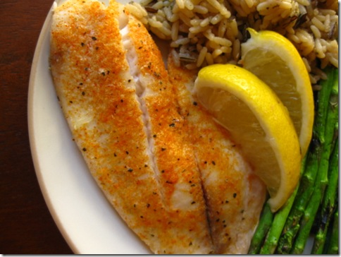 how to bake fish fillets with breadcrumbs