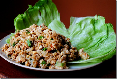 Pf changs lettuce wraps nutrition