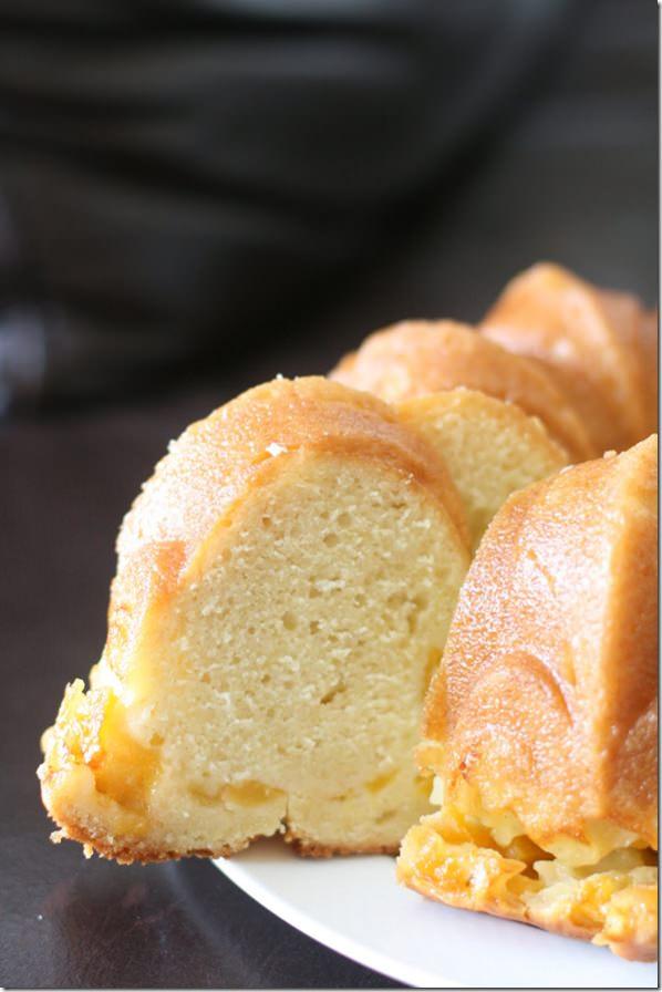 vanillapeachbundtcake