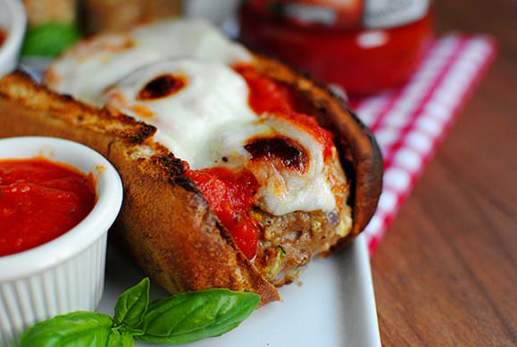 Sneaky Meatball Subs #glutenfree | iowagirleats.com
