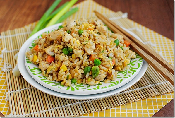 Easy Chicken Fried Rice is so simple to make at home, and is way ...
