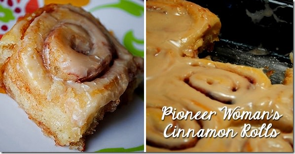 Pioneer Woman's Cinnamon Rolls