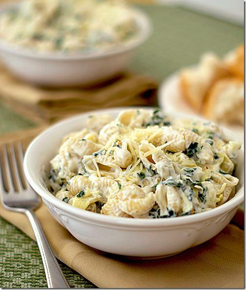 spinach-artichoke-dip-pasta