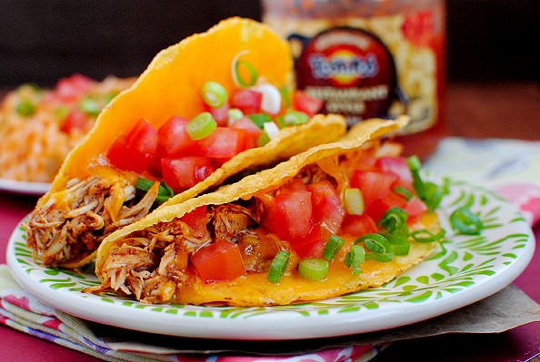 Photo of plate of tacos
