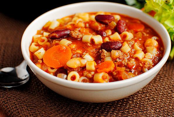 Copycat Olive Garden Pasta E Fagioli Soup Iowa Girl Eats