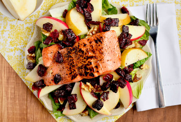 Autumn Salmon Salad via