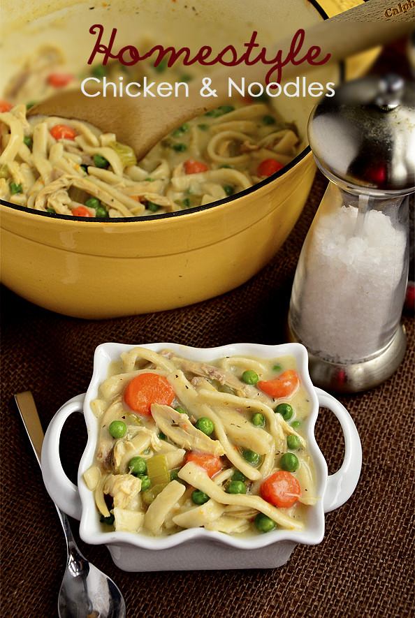 Homestyle Chicken and Noodles