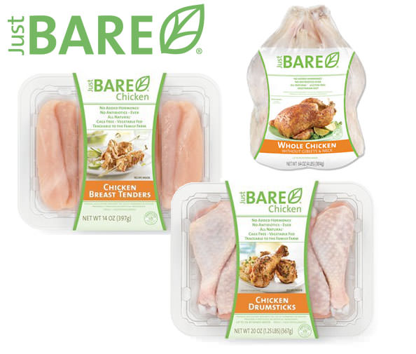 Just BARE Chicken Prize Pack Giveaway from