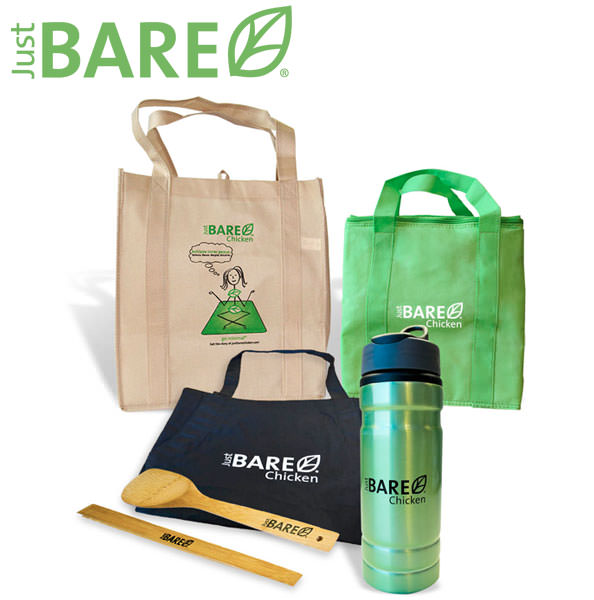 Just BARE Chicken Prize Pack Giveaway from Io