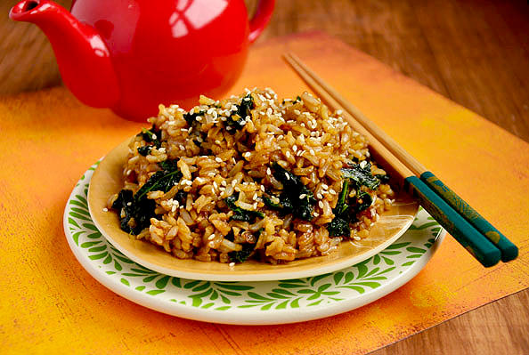 fried rice quinoa fried rice to rice these days kale and cashew fried ...
