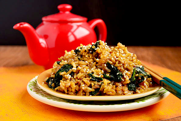 Must Try Kale Fried Rice from Iow