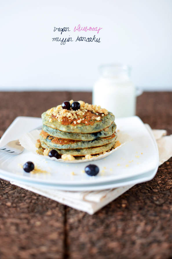 Vegan-Blueberry-Muffin-Pancakes