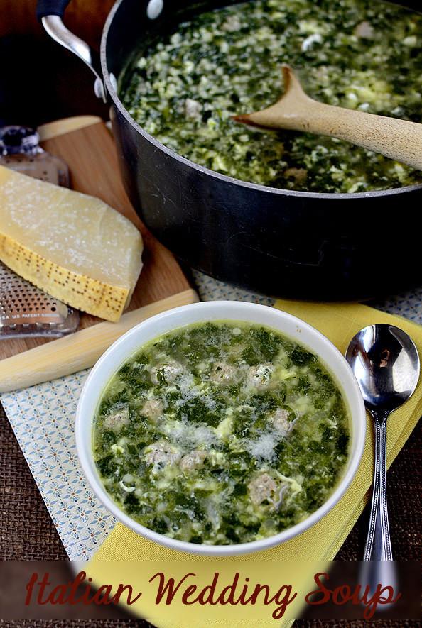 Italian Wedding Soup | iowagirleats.com