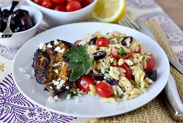 Toasted Orzo With Olives And Lemon Recipes — Dishmaps