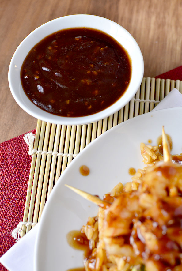 Copycat Bonefish Grill Pan Asian-Glazed Shrimp   familycuisine.net
