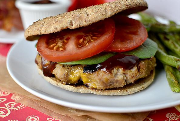 Clubhouse Turkey Burger | iowagirleats.com