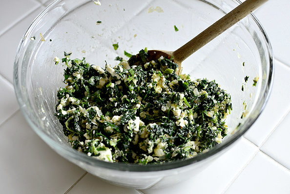 Easy Spanakopita Bites. Great for baby or bridal showers!   iowagirleats.com