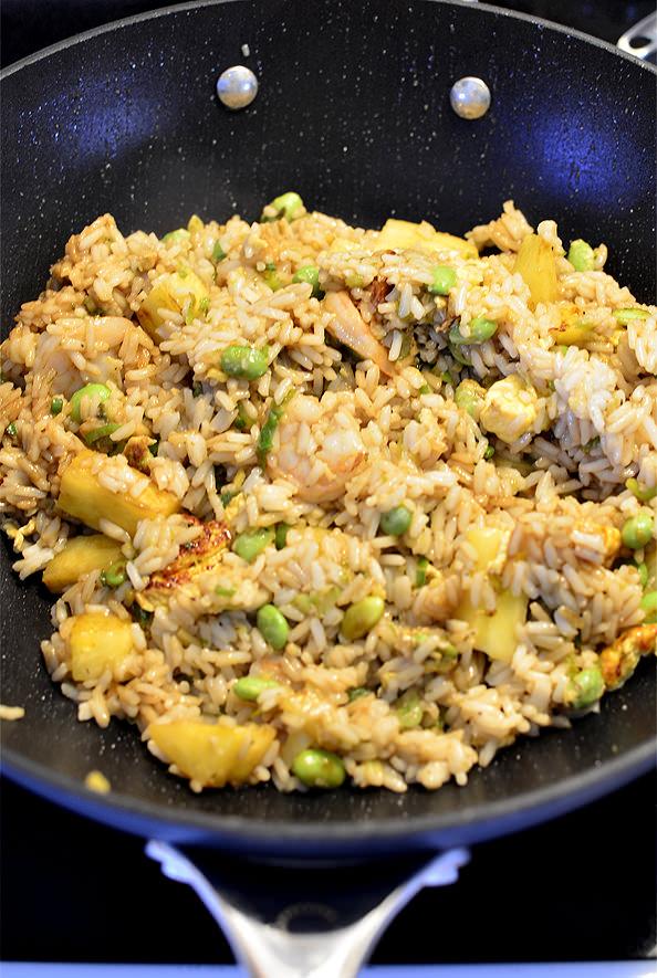 Thai Fried Rice | iowagirleats.com