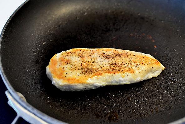 Creamy Chicken and Herb Skillet | iowagirleats.com