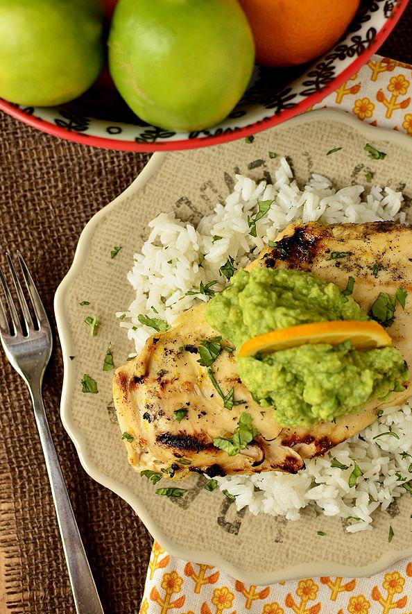 Fresh Margarita Chicken | iowagirleats.com