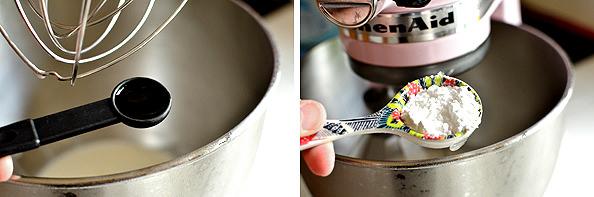 Strawberry Angel Food Cake Jars | iowagirleats.com