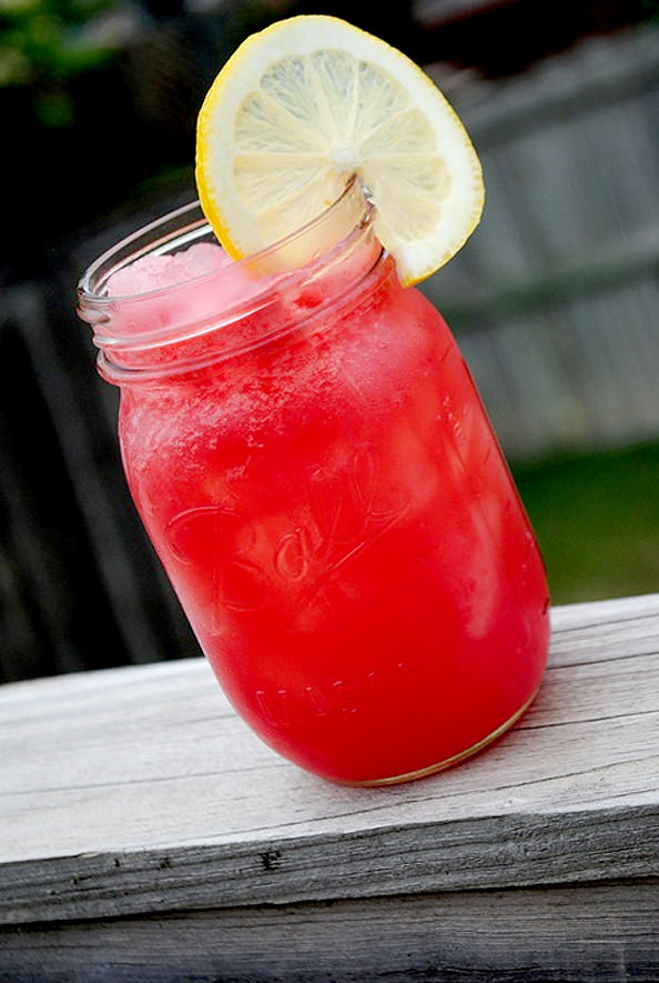 boozy watermelon rosemary lemonade recipe on food52 boozy watermelon ...