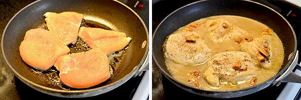 Roasted Garlic Chicken Skillet | iowagirleats.com
