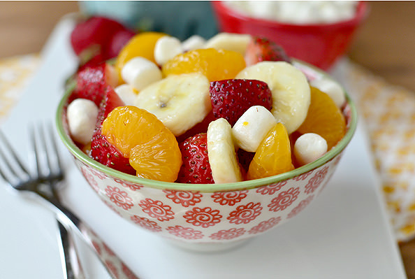 Easiest Fruit Salad | iowagirleats.com