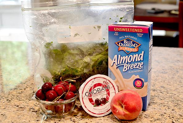 Cherry-Peach Smoothies   iowagirleats.com