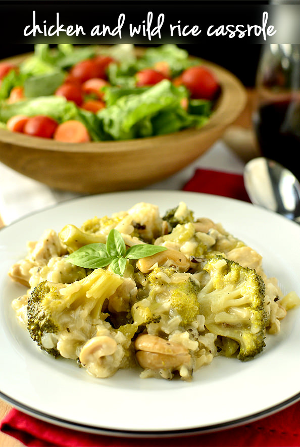 Chicken and Wild Rice Casserole (Freezer Friendly!) | Dole Nutrition ...