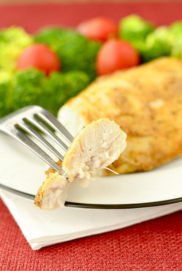 Crock Pot Roast Chicken | iowagirleats.com