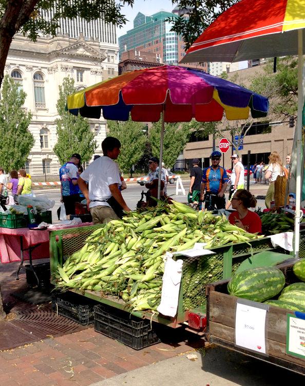 Summer Farmers Market Risotto   iowagirleats.com
