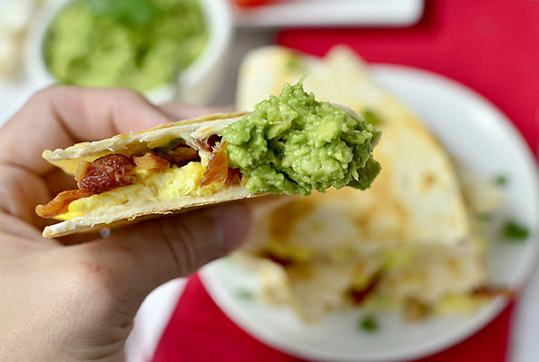 Breakfast Quesadillas | iowagirleats.com