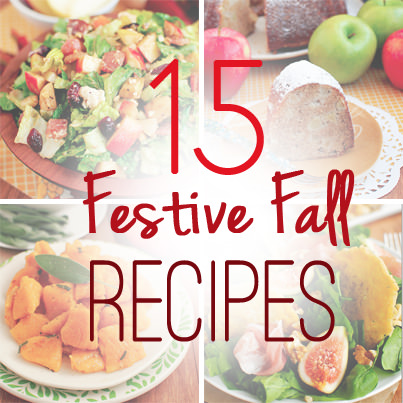 15 Festive Fall Recipes | iowagirleats.com