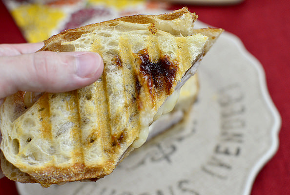 Apple Orchard Panini | iowagirleats.com