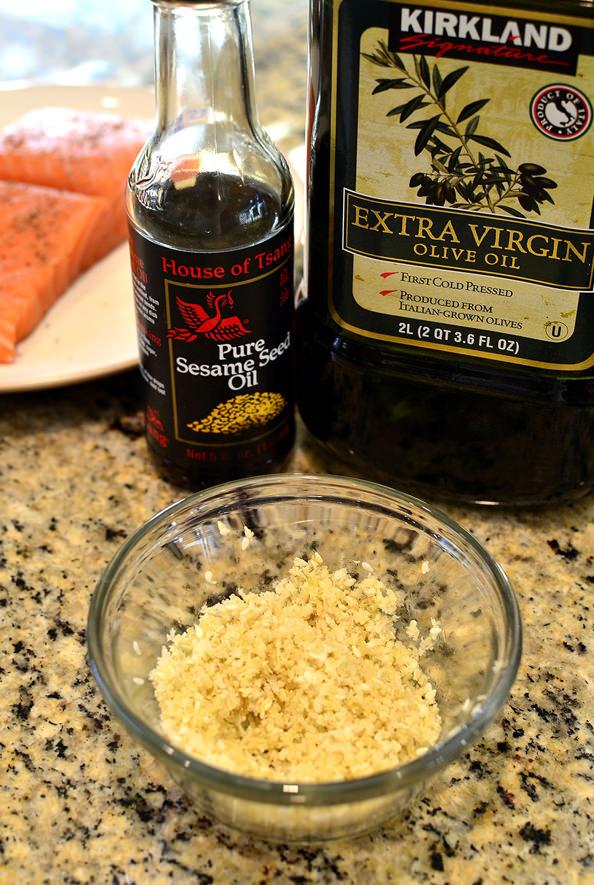 Crispy Baked Asian Salmon   iowagirleats.com