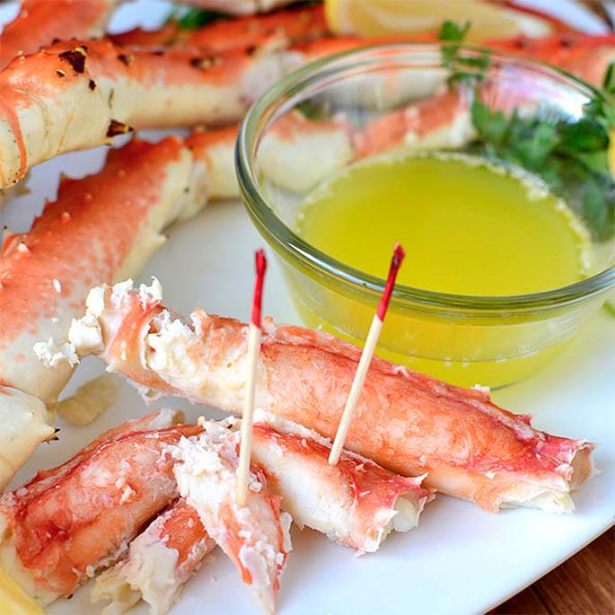 Drunken Alaska King Crab Legs Iowa Girl Eats