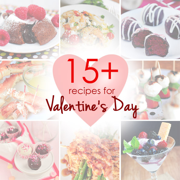 15+ Valentines Day Recipes | iowagirleats.com