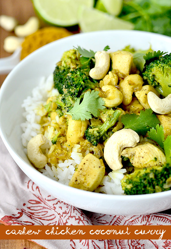 fun recipe + giveaway for you today – Cashew Chicken Coconut Curry ...