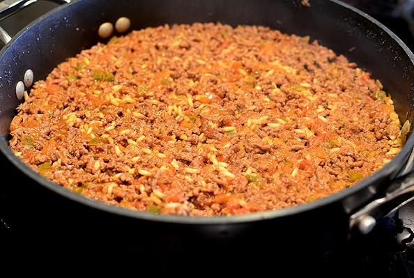 Crunchy Taco Homemade Hamburger Helper | iowagirleats.com