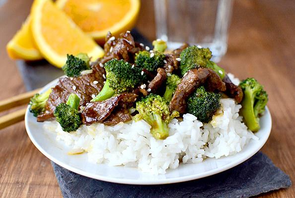 Lighter Orange Beef and Broccoli   iowagirleats.com