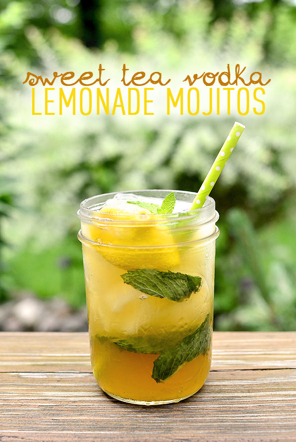 ... new favorite summer cocktail – Sweet Tea Vodka Lemonade Mojitos