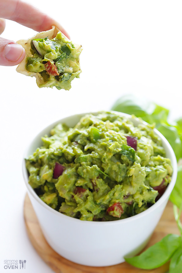 Favorite dip: Italian Guacamole . Such a simple twist with such a ...
