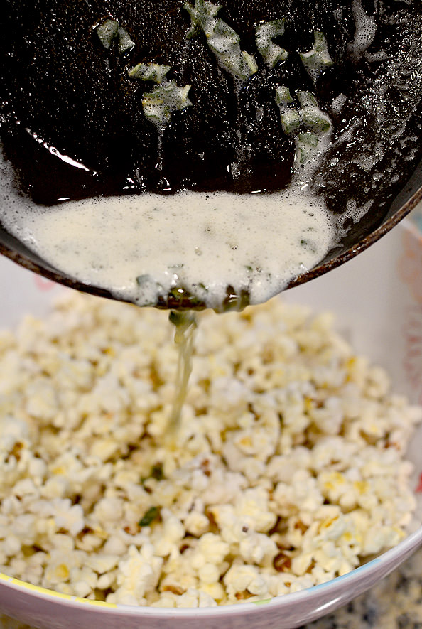 Brown Butter and Crispy Sage Popcorn + How to Make Popcorn on the ...