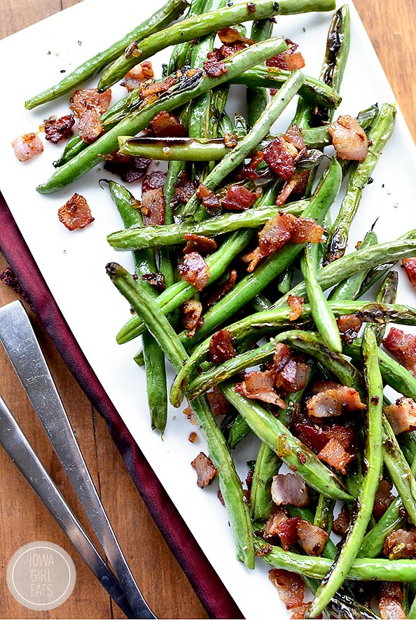15 Minute Green Beans And Bacon Iowa Girl Eats