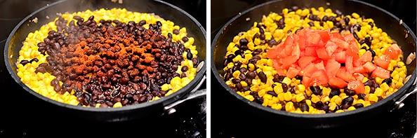 Black Bean, Sweet Corn, and Tomato Quinoa Burritos | iowagirleats.com