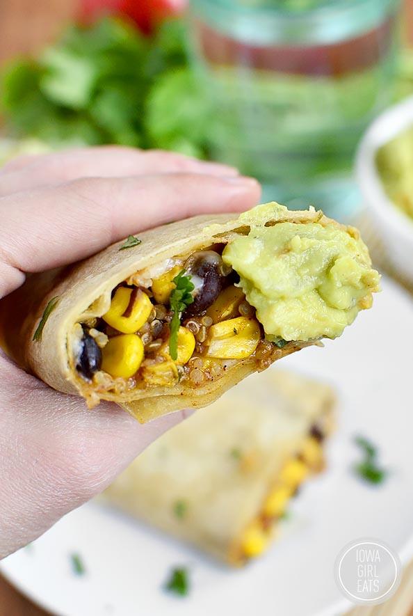 Black-Bean-Sweet-Corn-Tomato-and-Quinoa-Burritos-iowagirleats-13
