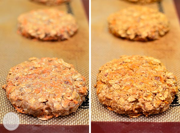 Gluten Free Carrot Cake Breakfast Cookies #glutenfree | iowagirleats.com