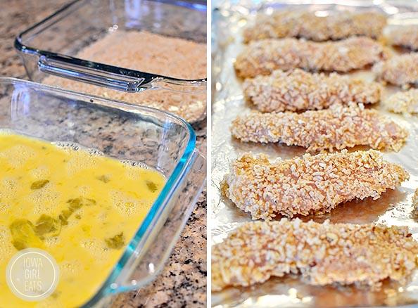 Thai Sticky Chicken Fingers #glutenfree | iowagirleats.com